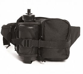 Сумка поясная Mil-Tec «FANNY PACK WITH BOTTLE» Black